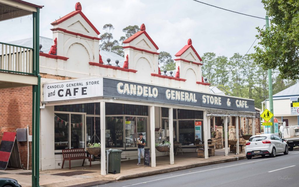 Candelo General Store and cafe. NSW South Coast.
