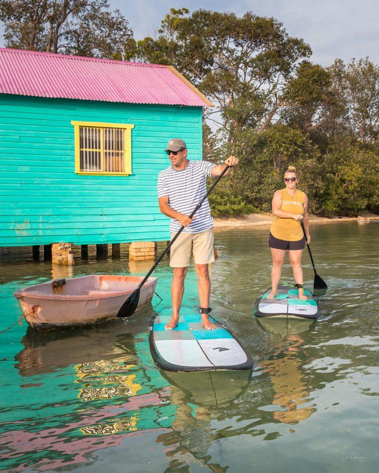 Stand Up Paddle at Mitches Jetty, Merimbula NSW South Coast