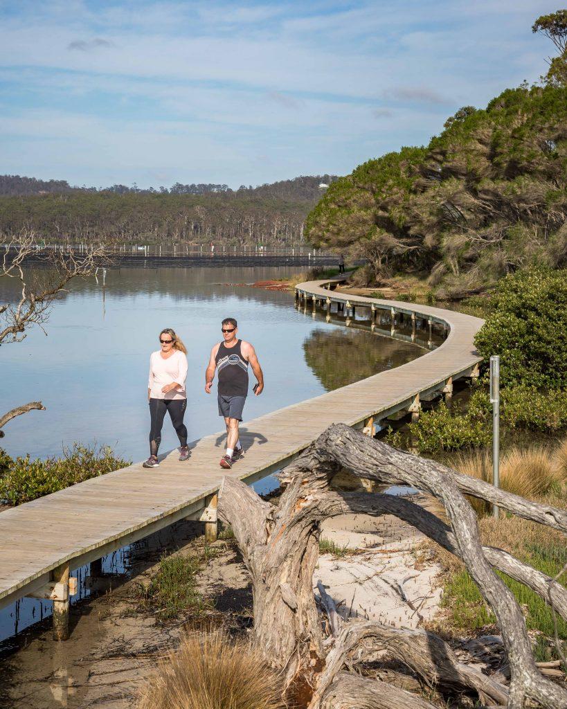 Merimbula Boardwalk, Merimbula NSW South Coast