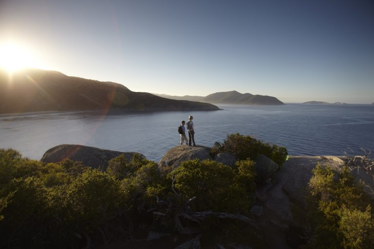 Pillar Point Lookout at Wilsons Promontory National Park