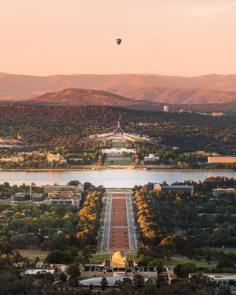 Mount Ainslie Lookout in Canberra