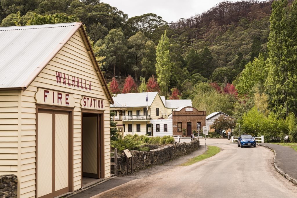 Historic Walhalla town centre