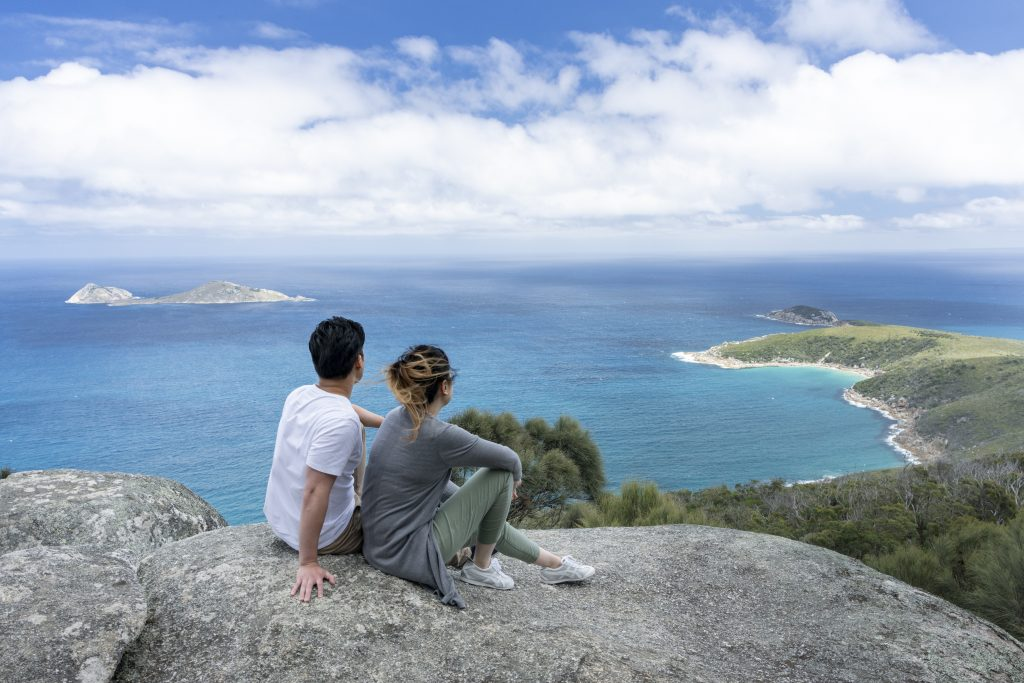 Sparkes Lookout, Wilsons Promontory National Park Gippsland, Wilsons Promontory
