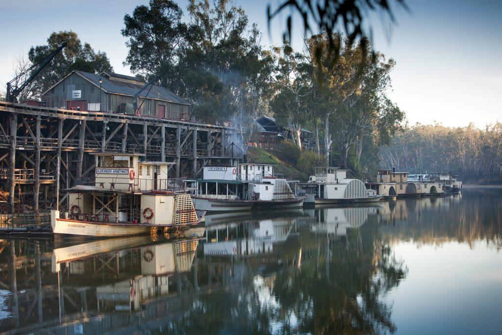 River port, echuca moama, murray river