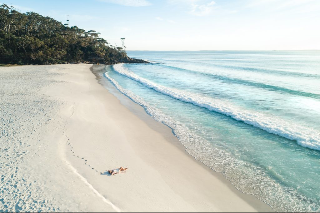 Greenfield Beach at Jervis Bay