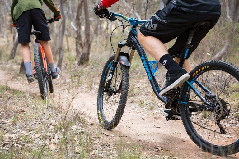 nail can hill, Albury Wodonga, cycling
