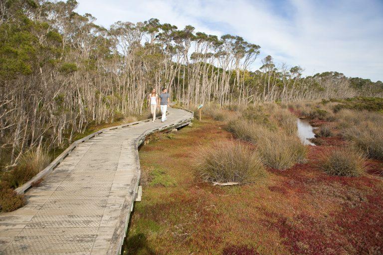 Rhyll Inlet Boardwalk Phillip Island