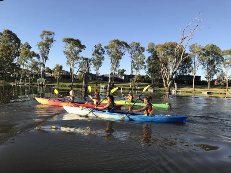 Kayak the Murray