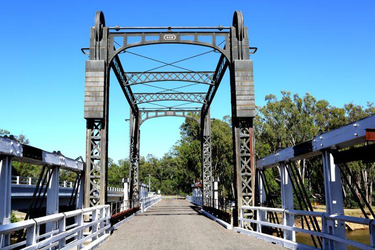 Old Cobram Barooga Bridge
