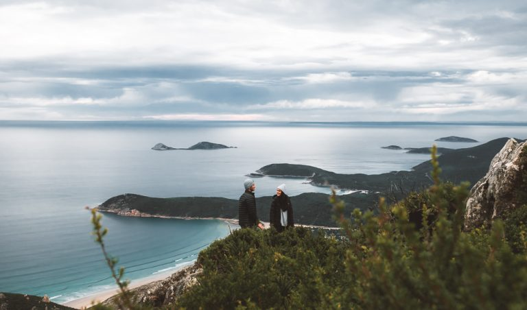 Mt Oberon Summit at Wilsons Promontory National Park