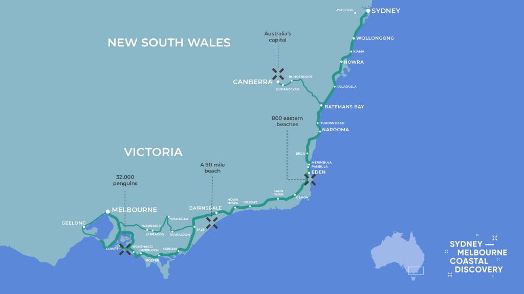 Coastal Discovery Map